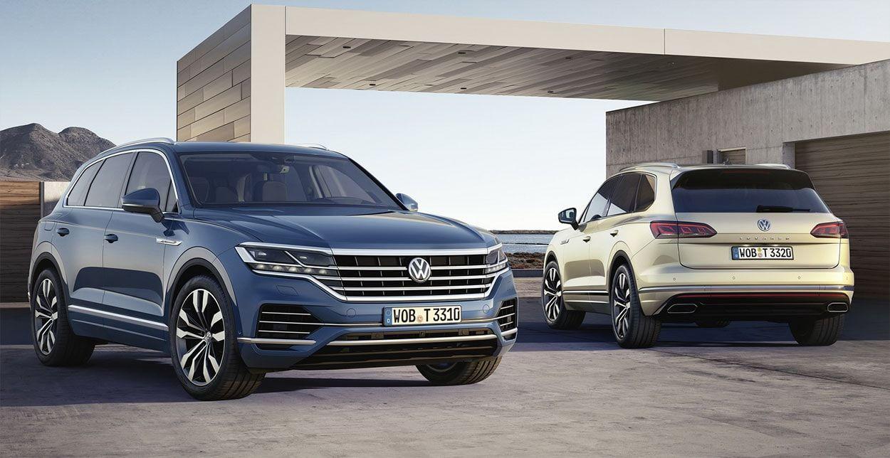 Новый Volkswagen Touareg III: 7 интересных фактов