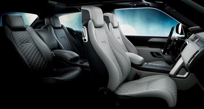 салон Range Rover SV Coupe