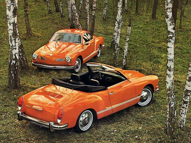 Купе VW Karmann Ghia: немецкая черепаха и итальянские зайцы