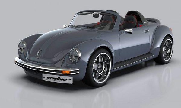Volkswagen Roadster 2.7. Жуки возвращаются. Новый Käfer Cabrio 2018, видео