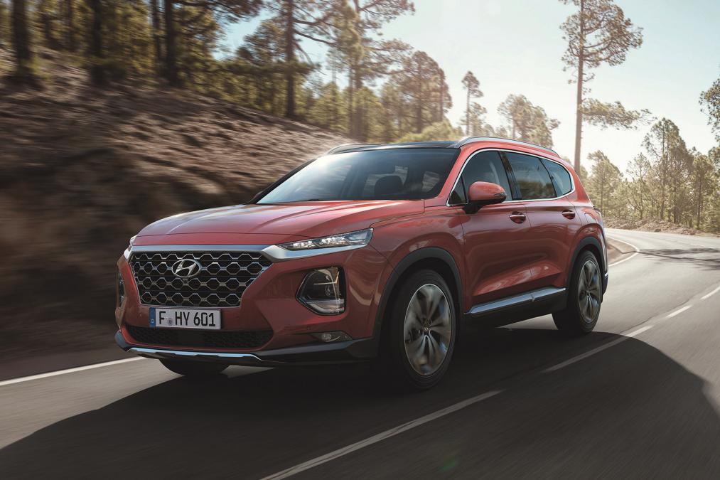 Новый Hyundai Santa Fe 2018 – 2019. Держать марку!