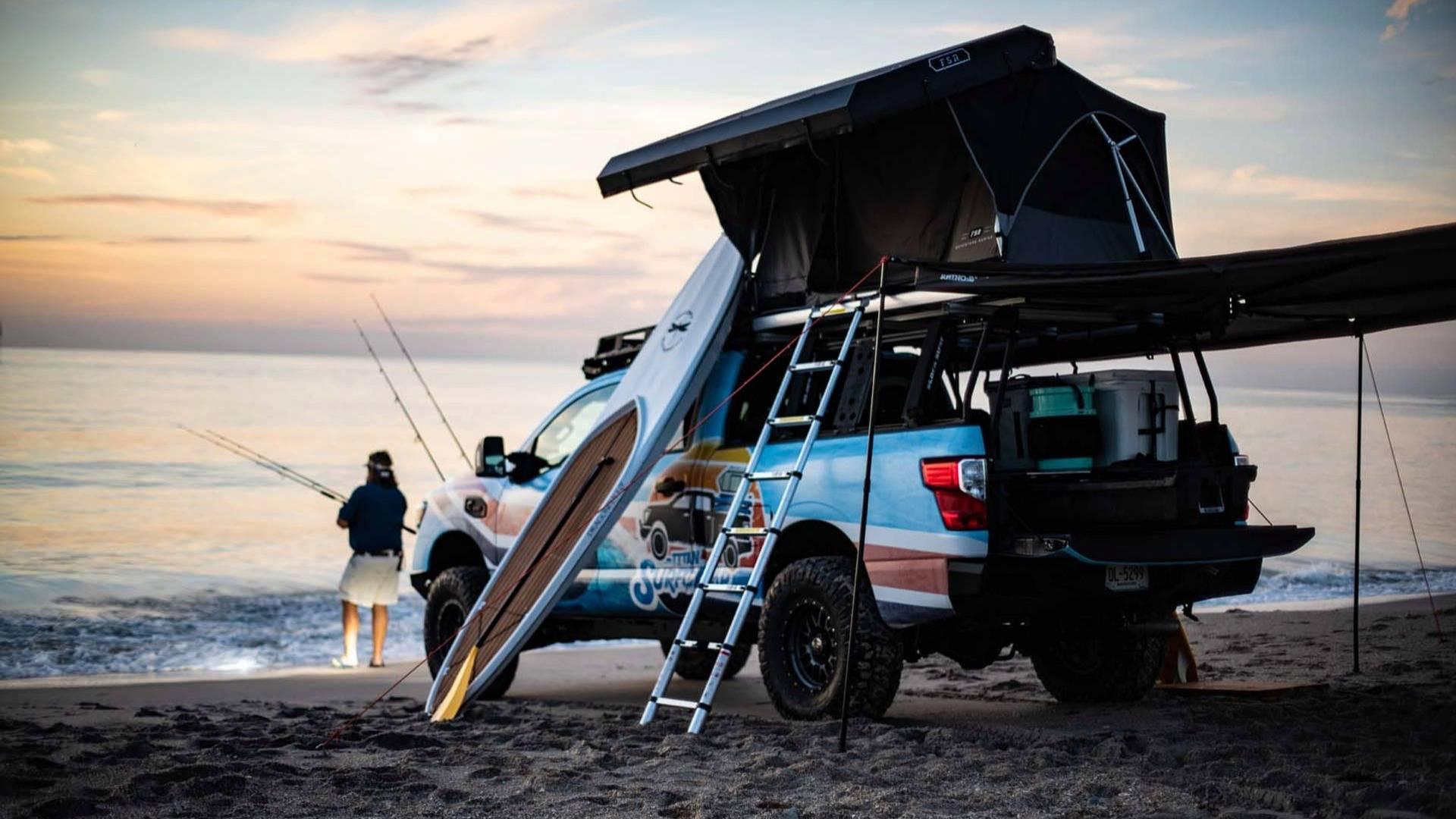 Обзор Nissan Titan Surfcamp 2018: пляж как стиль жизни