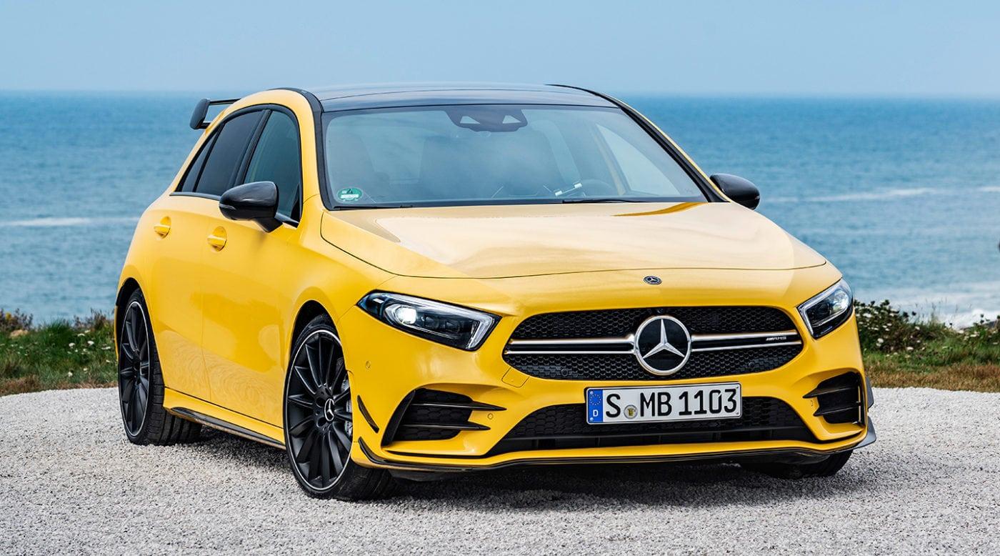 Mercedes-AMG A35 4MATIC станет самым доступным AMG