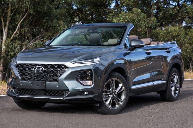 Hyundai Santa Fe Cabriolet существует. Но вам его не продадут
