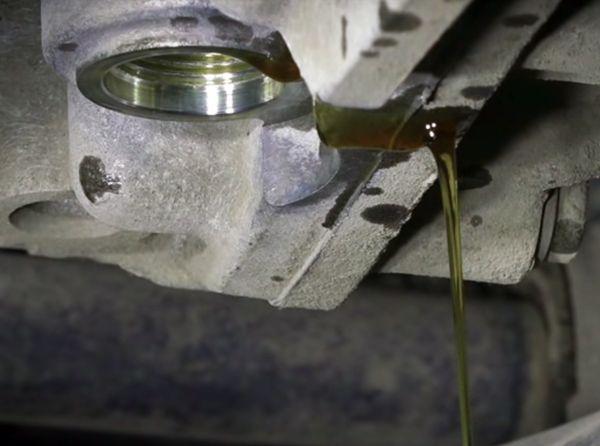 замена масла в DSG7