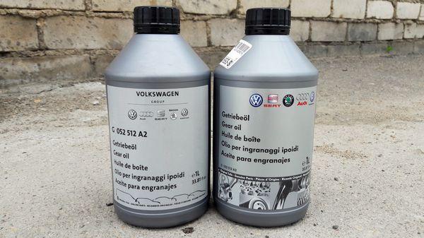 замена масла в DSG 7