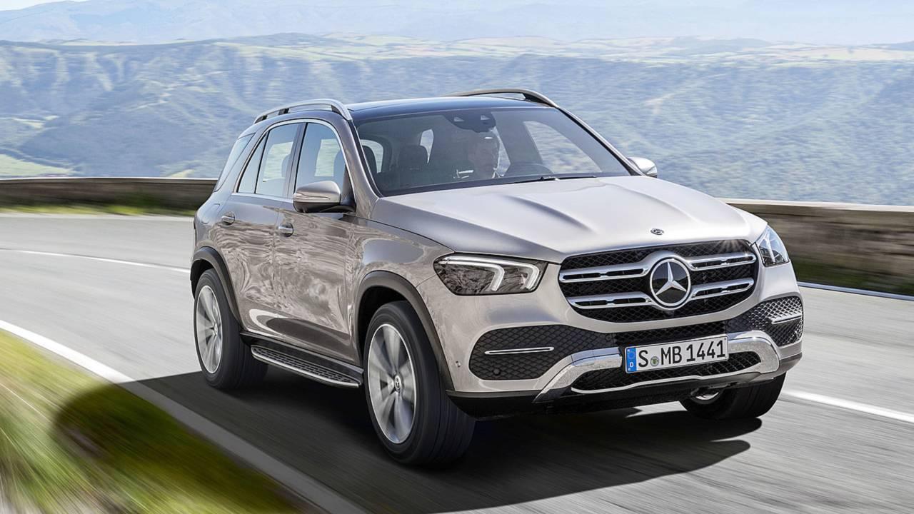 2019 Mercedes-Benz GLE: самый технологичный кроссовер марки
