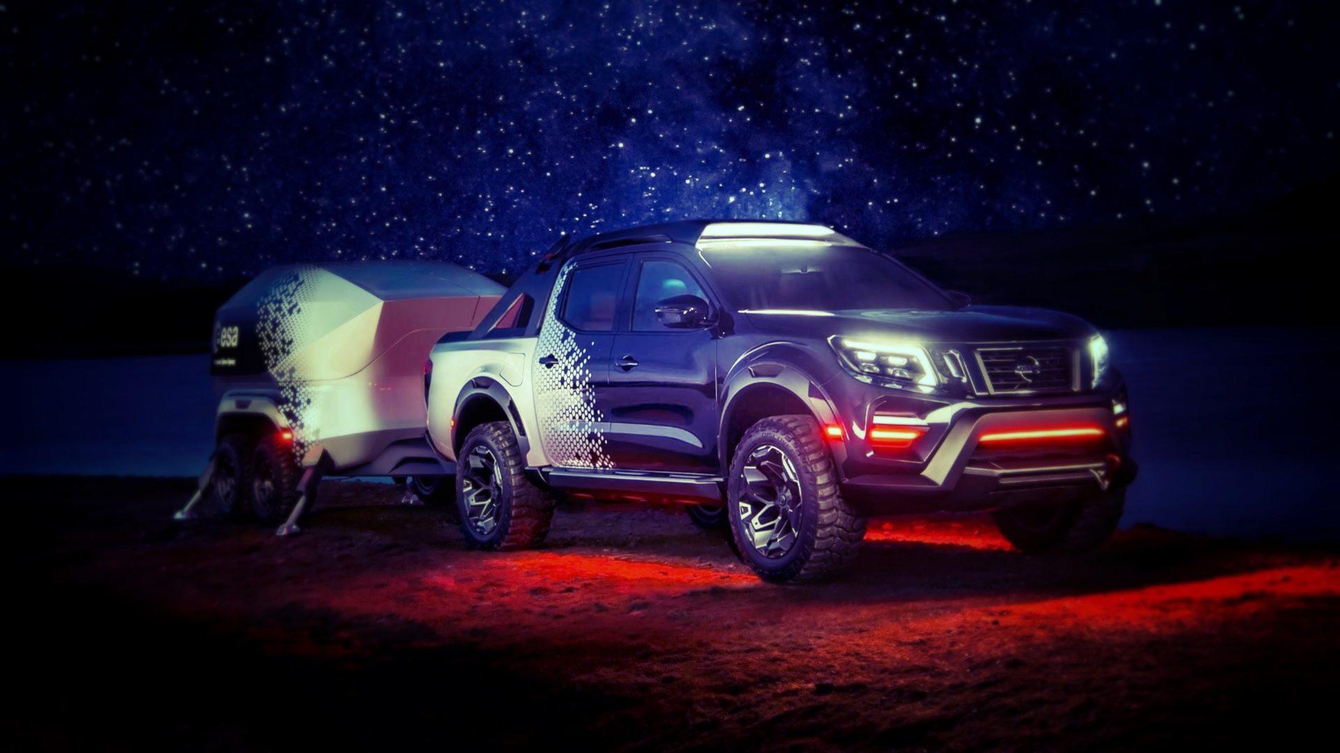Nissan Navara Dark Sky: ближе к звездам. Новый блестящий концепт