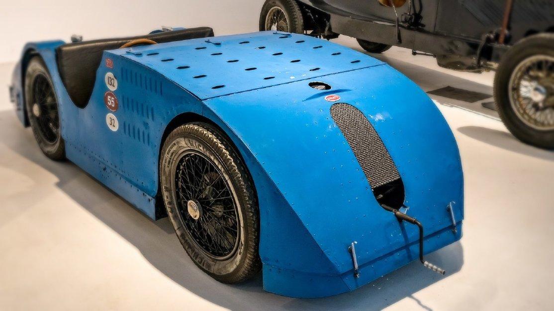 Bugatti Type 32 1923 года. Самая короткая жизнь самого быстрого утюга на планете
