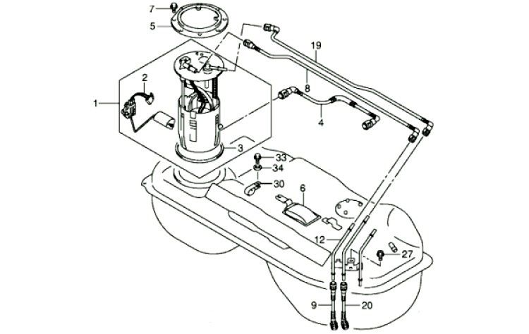 сузуки гранд витара топливный фильтр