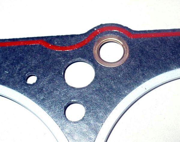 замена прокладки гбц ланос