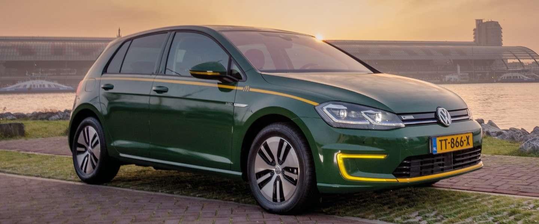 Электрический Volkswagen e-Golf McDrive Edition. Бургерная на электротяге