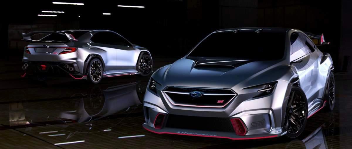 Subaru Viziv Performance Concept приведет компанию в WRC?