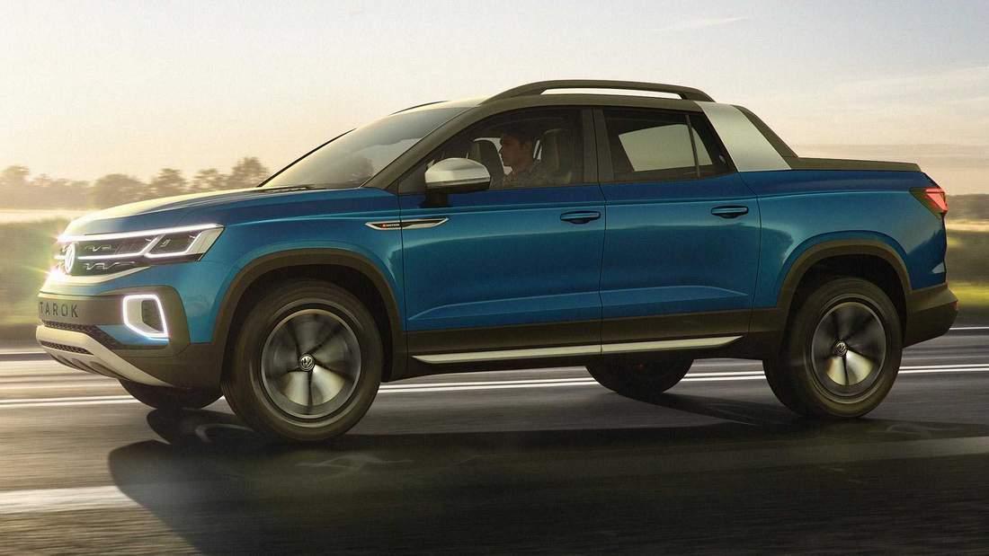Новый пикап Volkswagen Tarok выйдет на рынок в 2019 году. Но не на наш