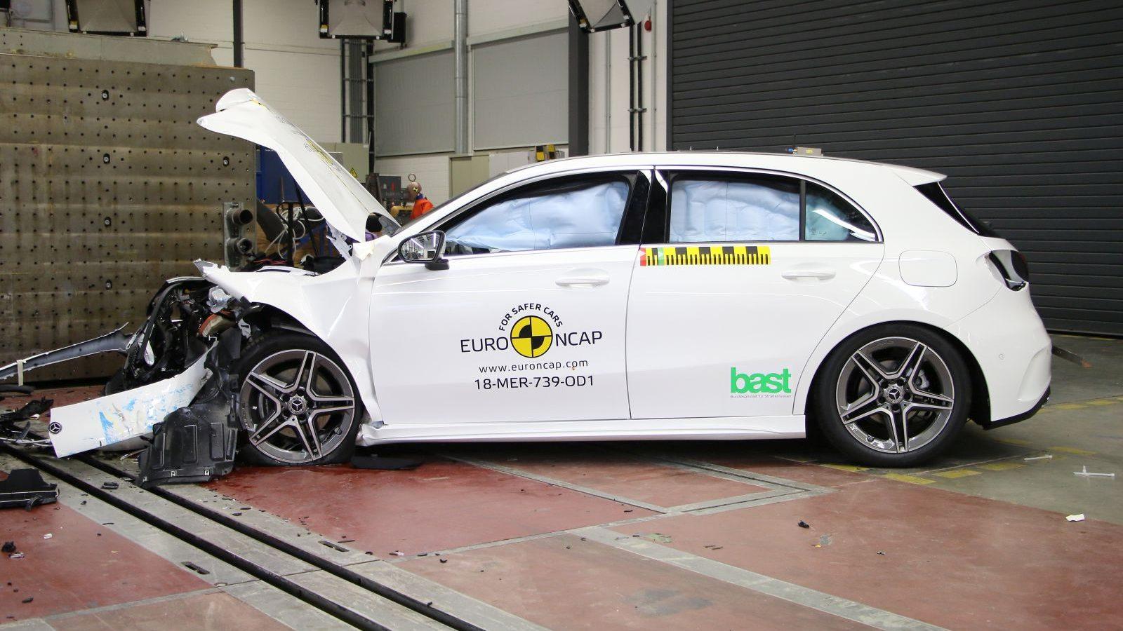 Самые безопасные авто 2018 года. Отчет EuroNCAP, видео