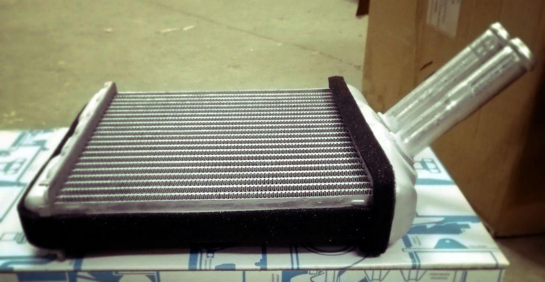 Наш Ланос. Радиатор печки, ремонт и промывка без снятия