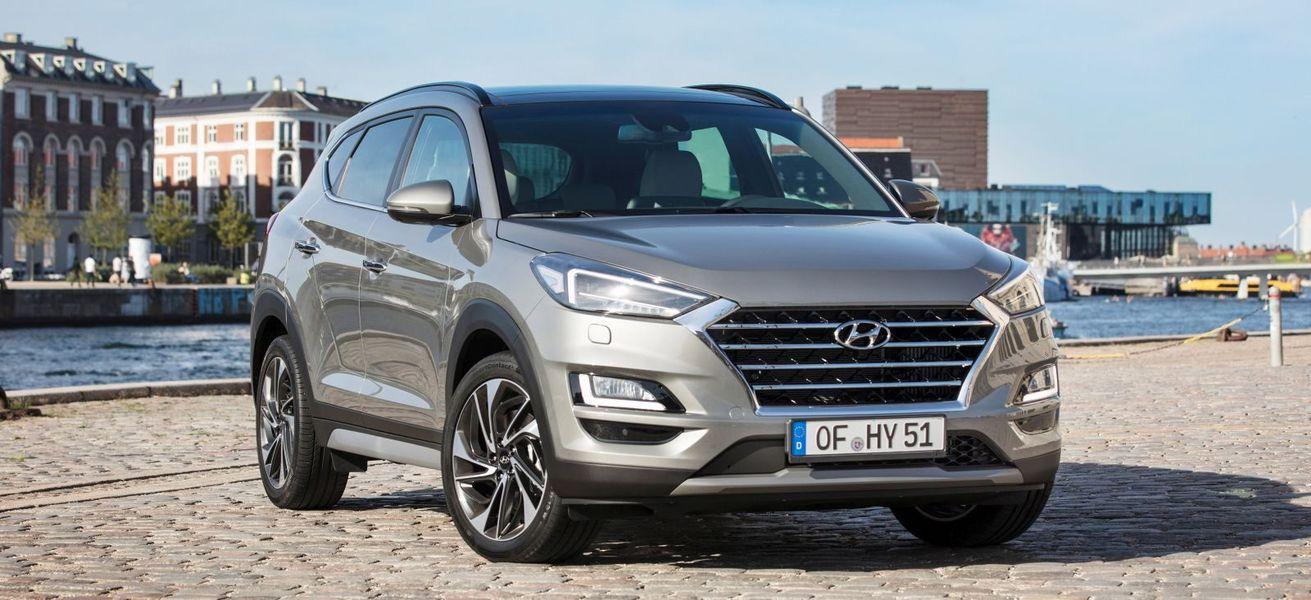 Новый посвежевший Hyundai Tucson 2019