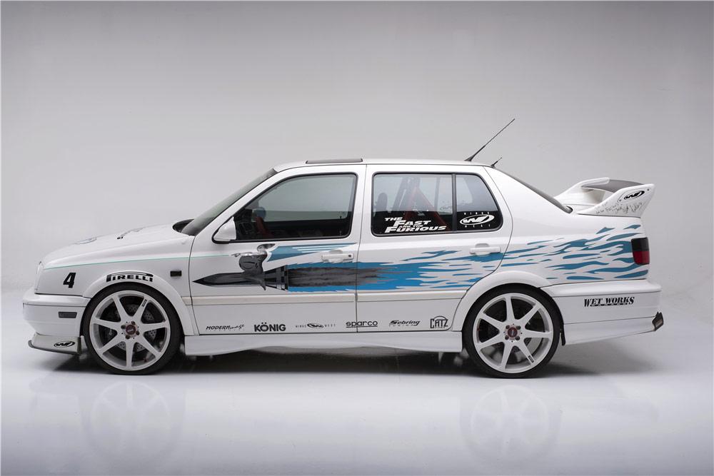 VW Jetta 1995 года из фильма Форсаж уйдет с молотка за $100 тысяч