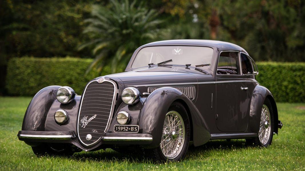 Alfa Romeo 8C 2900B Touring Berlinetta 1938: один самых красивых довоенных автомобилей