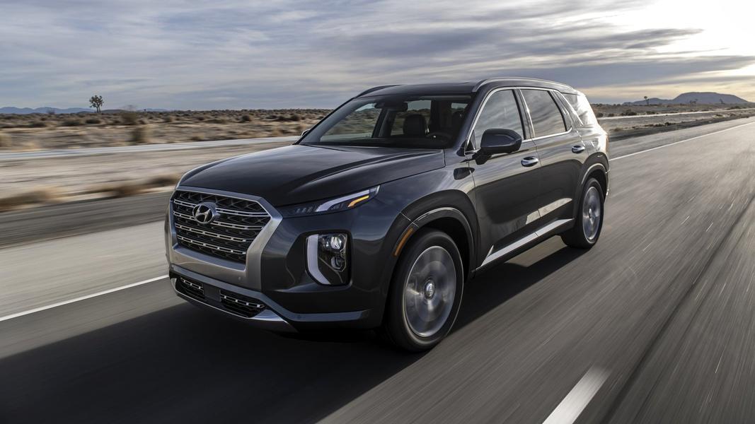Первый обзор Hyundai Palisade 2019. Расступись, мелюзга
