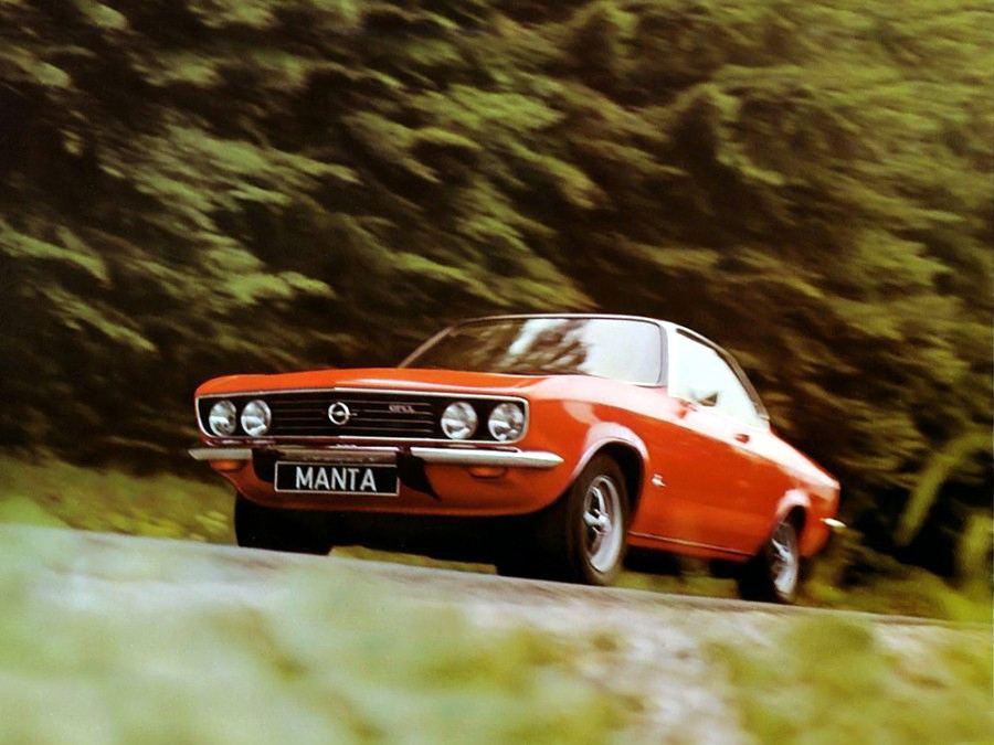 Странички истории. Opel Manta: скромное купе с запахом 70-х
