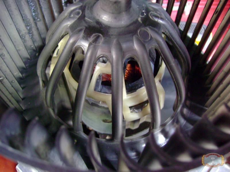 вентилятор печки дастер