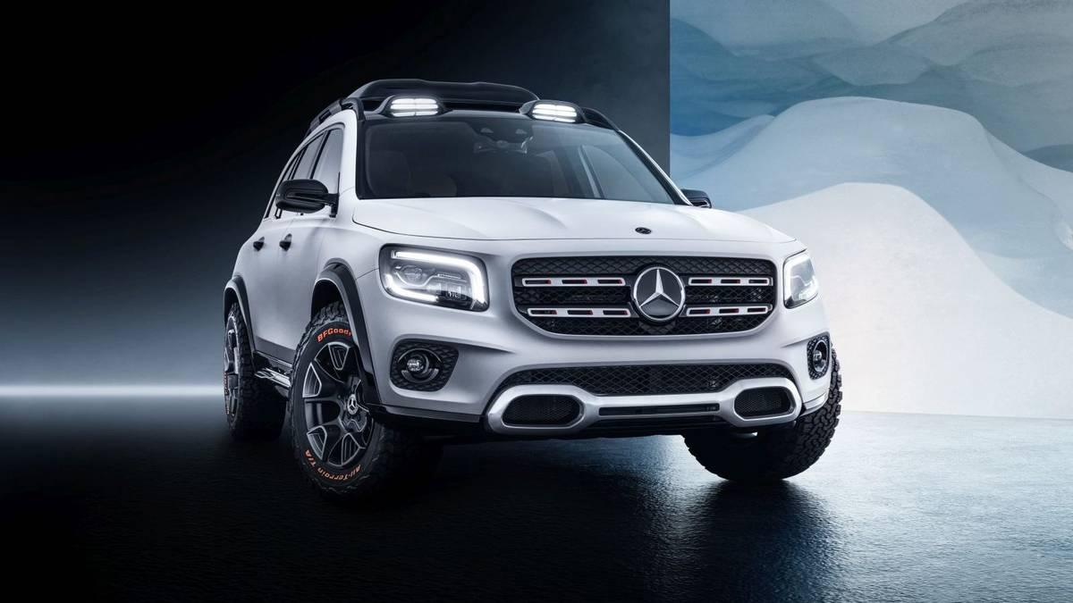 Обзор Mercedes-Benz GLB 2019: компактный паркетник нового класса