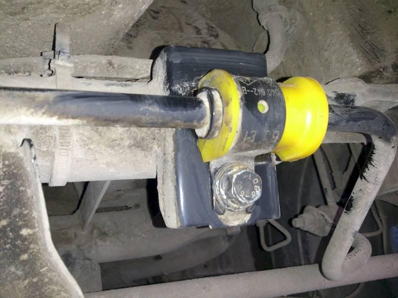 втулки стабилизатора рено дастер