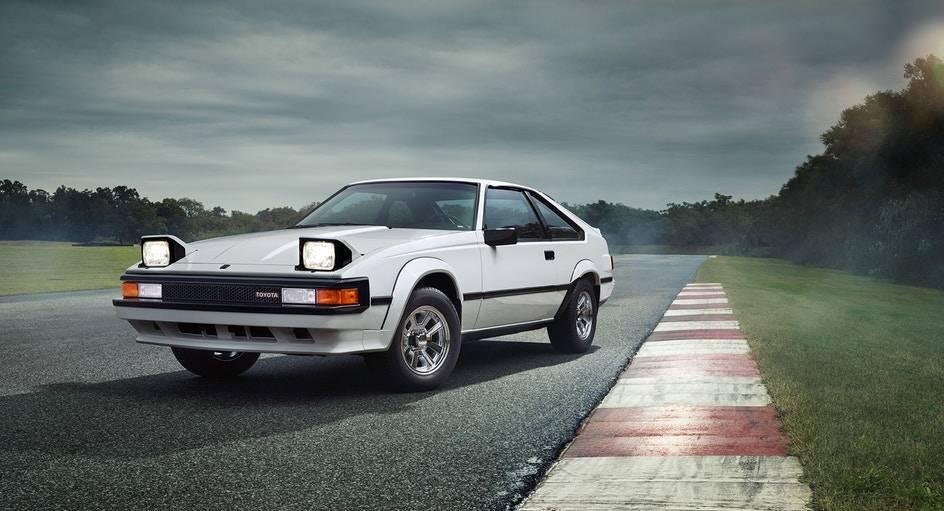 Странички истории. Виражи Toyota Supra