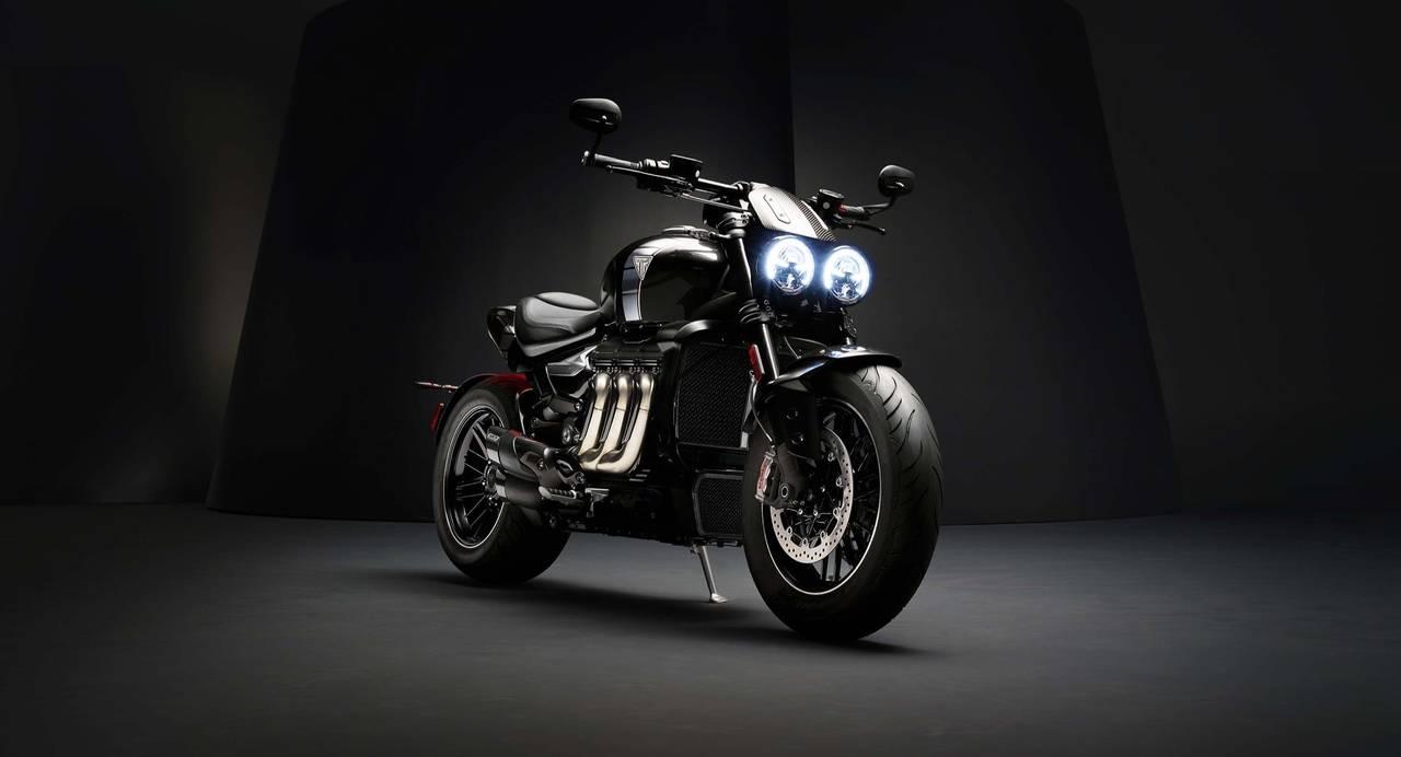Triumph Rocket 3 TFC – самый мощный мотоцикл бренда