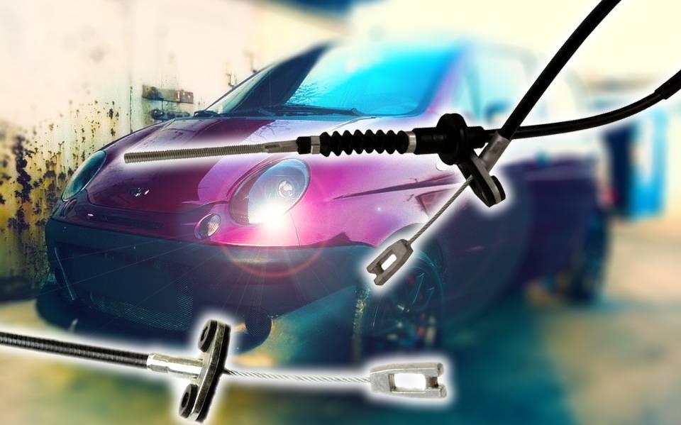 Обслуживаем Daewoo Matiz: замена и регулировка троса сцепления