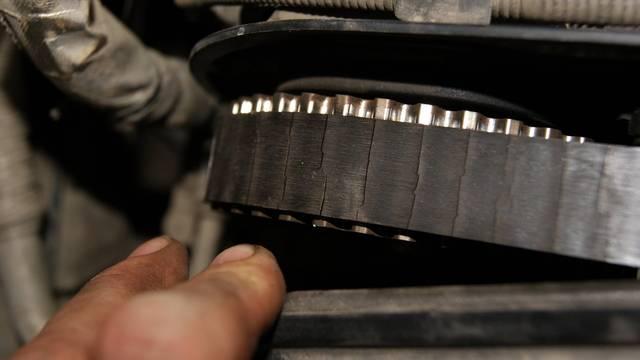 Замена ремня ГРМ на двигателе 1.6 BSE MPI Шкода Октавия
