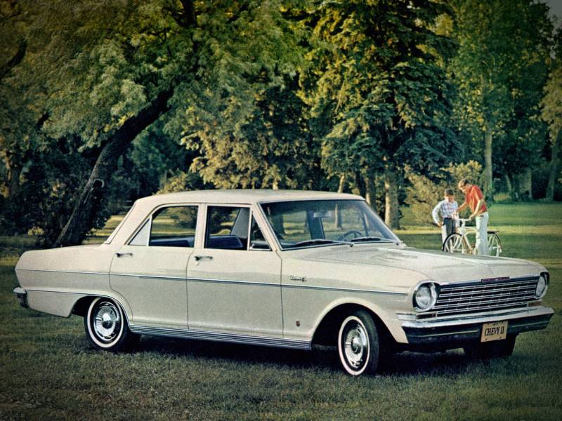 1964 Chevrolet Chevy II Nova 4-door Sedan