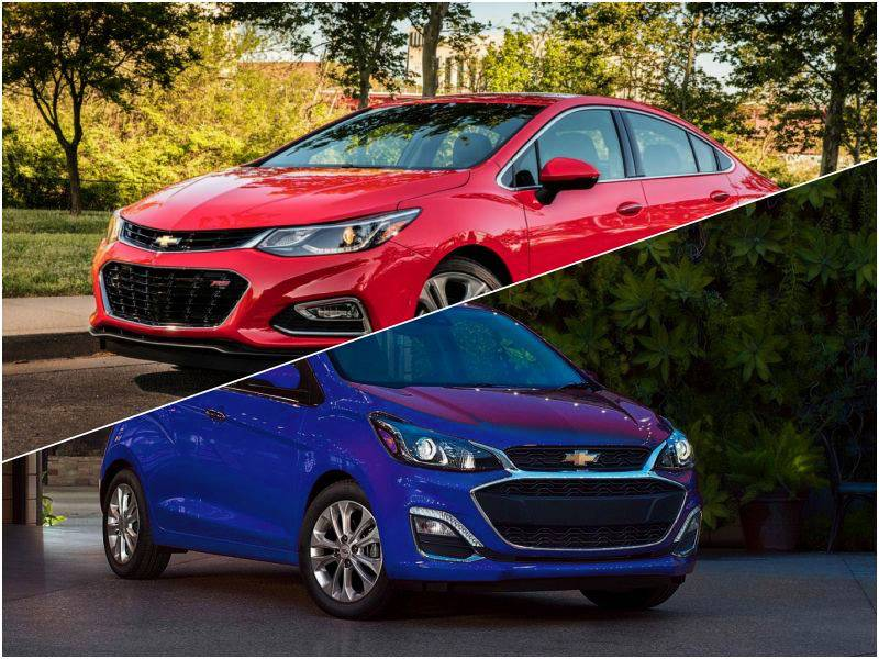 Chevrolet Cruze и Chevrolet Spark 2020 серьезно обновились