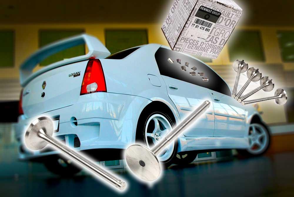 Регулируем зазоры клапанов на двигателе K7J, K7M Renault